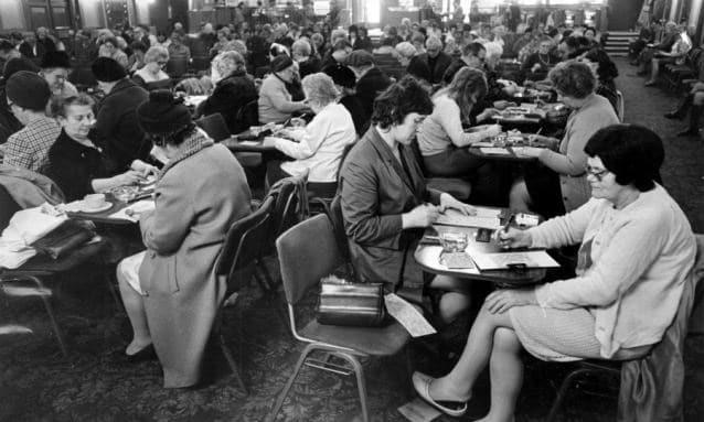 Primjer kako se bingo igrao osamdesetih (istorija).