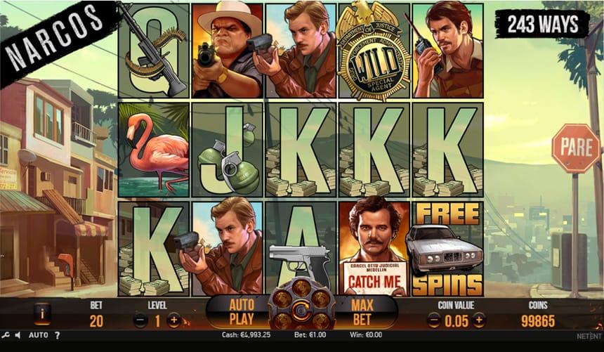 snimak ekrana u toku igre Narcos