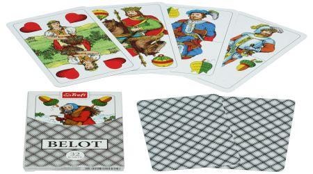 Raub je igra koja se igra madjarskim kartama. Vidi sliku.