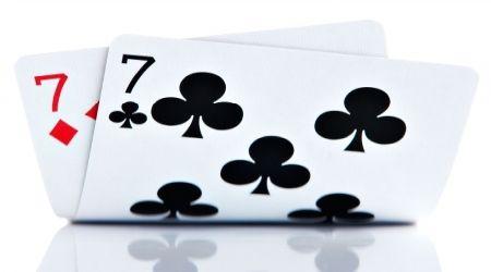 Sedmice kartaška igra.