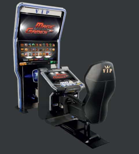 Permainan slot tersedia di kasino Grand Admiral