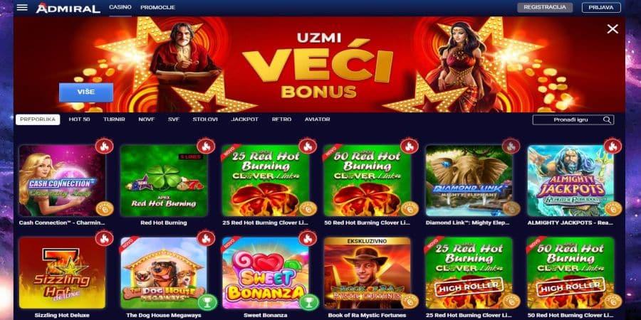 printscreen admiral casino online portala.